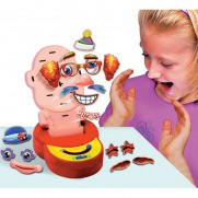 Mr Funny Face Board Game