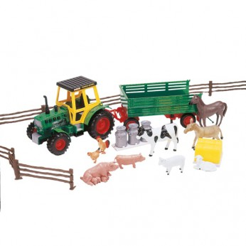 Farm Tractor and Trailer With Animals reviews