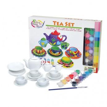 Paint Your Dream World Tea Set