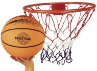Basketball Ring, Net and Ball Set