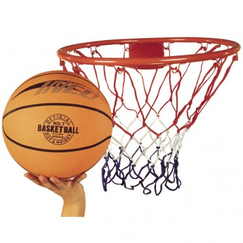 Basketball Ring, Net and Ball Set reviews