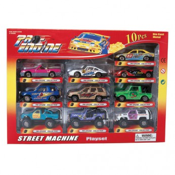 10 Piece Street Machine Playset reviews