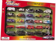 25 Piece Street Machine Playset
