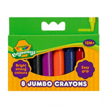 Crayola Beginnings 8 Jumbo Crayons reviews