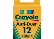 Crayola 12 pack Coloured Chalk