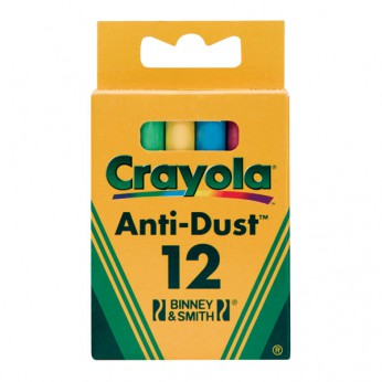 Crayola 12 pack Coloured Chalk reviews