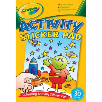 Crayola Activity Sticker Pads reviews