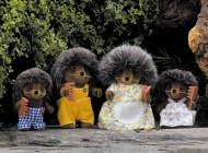 Sylvanian Hedgehog Family
