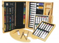 121 piece Art Set in Wooden Case