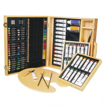 121 piece Art Set in Wooden Case reviews