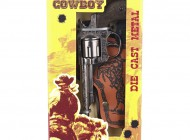 Single Cowboy Gun With Holster