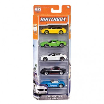 MatchBox 5 Pack Assortment reviews