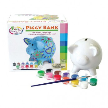 Paint Your Dream World Piggy Bank reviews