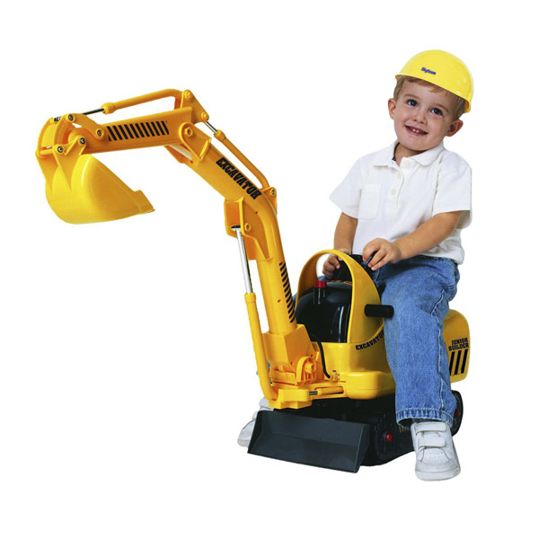 Construction Riding Toys For Boys : Micro excavator reviews toylike