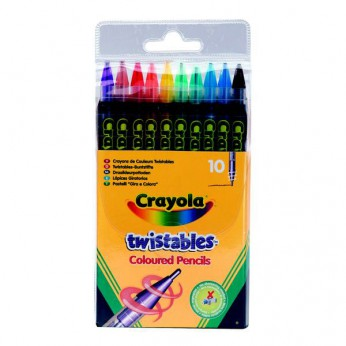 Crayola 10 Twistable Pencils reviews