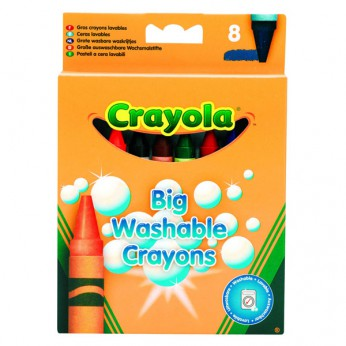 Crayola 8 Big Washable Crayons reviews
