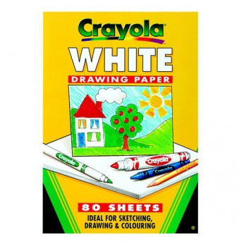 Crayola A4 White Paper Pad reviews