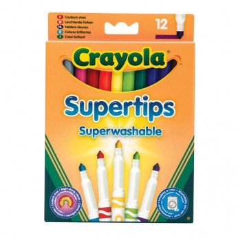Crayola 12 Supertips reviews