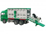 Bruder Man Cattle Transporter With Cow