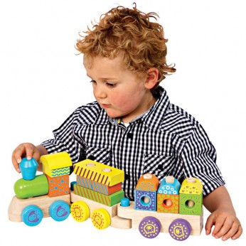 Wooden Stacking Train reviews