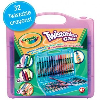 Crayola 32 piece Twistables Case reviews