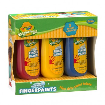 Crayola Beginnings Washble Finger Paint reviews