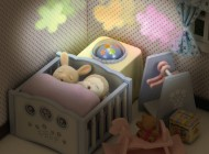 Sylvanian Nightlight Nursery Set