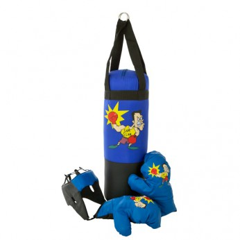 Punching Bag with Boxing Gloves and Headgear reviews
