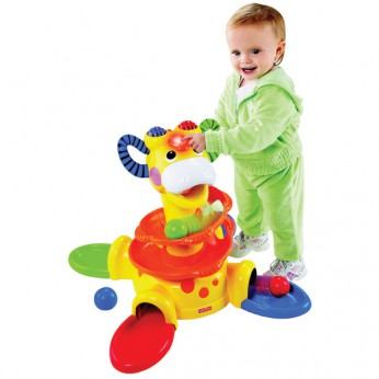 Fisher Price Sit To Stand Giraffe reviews