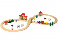 40 piece Wooden Train Set