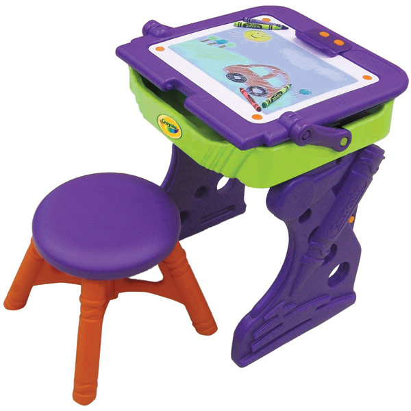 Crayola Desk And Chair Whitevan
