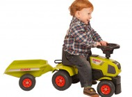 Claas Sit n Ride Tractor and Trailer