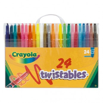 Crayola 24 Twistable Crayons reviews