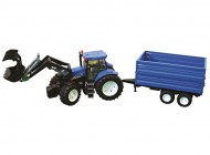 1:16 New Holland T8040 Tractor w/ Loader and Trailer