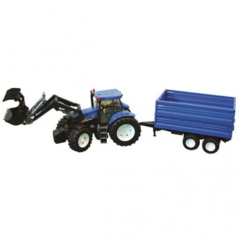 1:16 New Holland T8040 Tractor w/ Loader and Trailer reviews