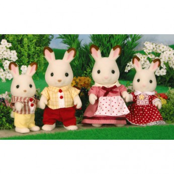 Sylvanian Chocolate Rabbit Family reviews