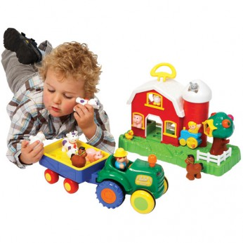 Old MacDonald Farmhouse and Tractor Set reviews
