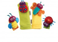 Lamaze Garden Bug Wrist and Feet Rattles