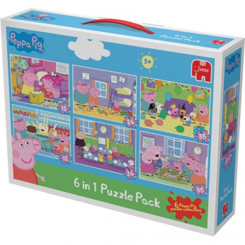 Peppa Pig 6 Jigsaw Puzzles reviews