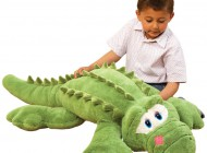 Friendly Green Crocodile