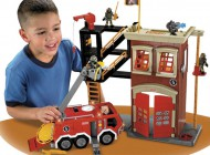 Fisher Price Imaginext Firestation and Engine