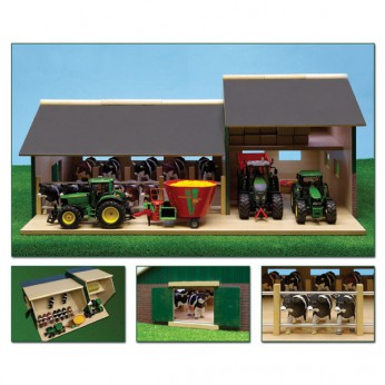 Wooden Cattle Stable with Farm Shed reviews