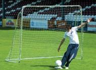 8 x 5ft Steel Goal