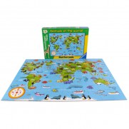 World Animal Giant Floor Puzzle 60 Piece