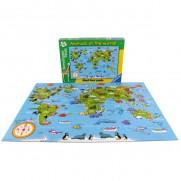 World Animal Giant Floor Puzzle 60 Piece