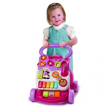 VTech First Steps Baby Walker Pink reviews