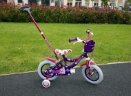 12 inch Bubble Bike With Parent Handle
