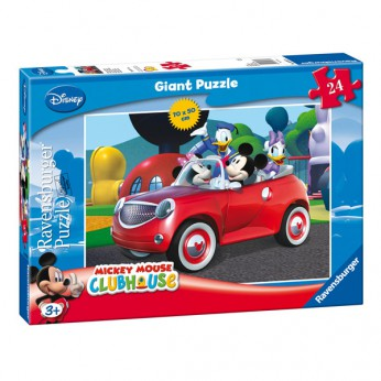 Mickey Mouse Clubhouse 24 Piece Puzzle reviews