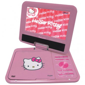 Hello Kitty Portable DVD Player reviews