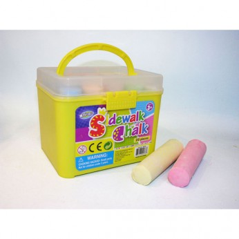 20pcs Jumbo Colour Chalk Bucket reviews
